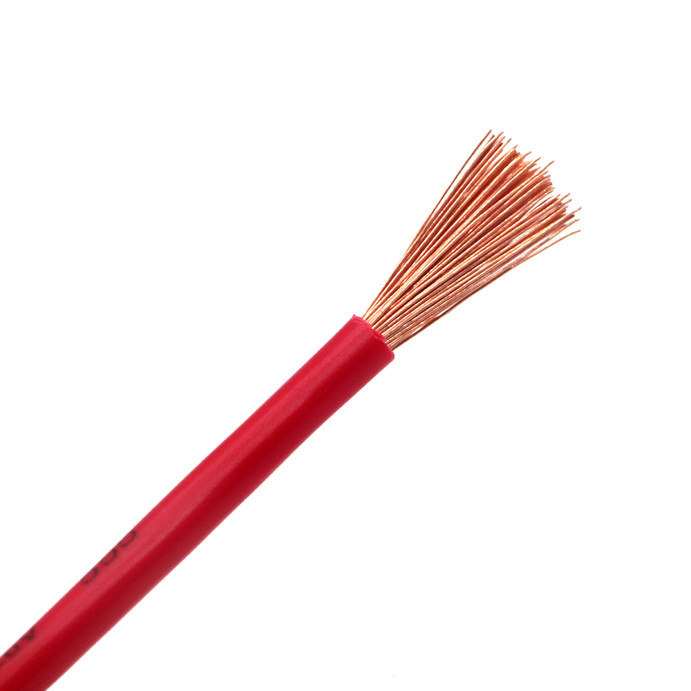 Single Copper Core PVC Insulated Stranded Flexible Electrical Cable Wire