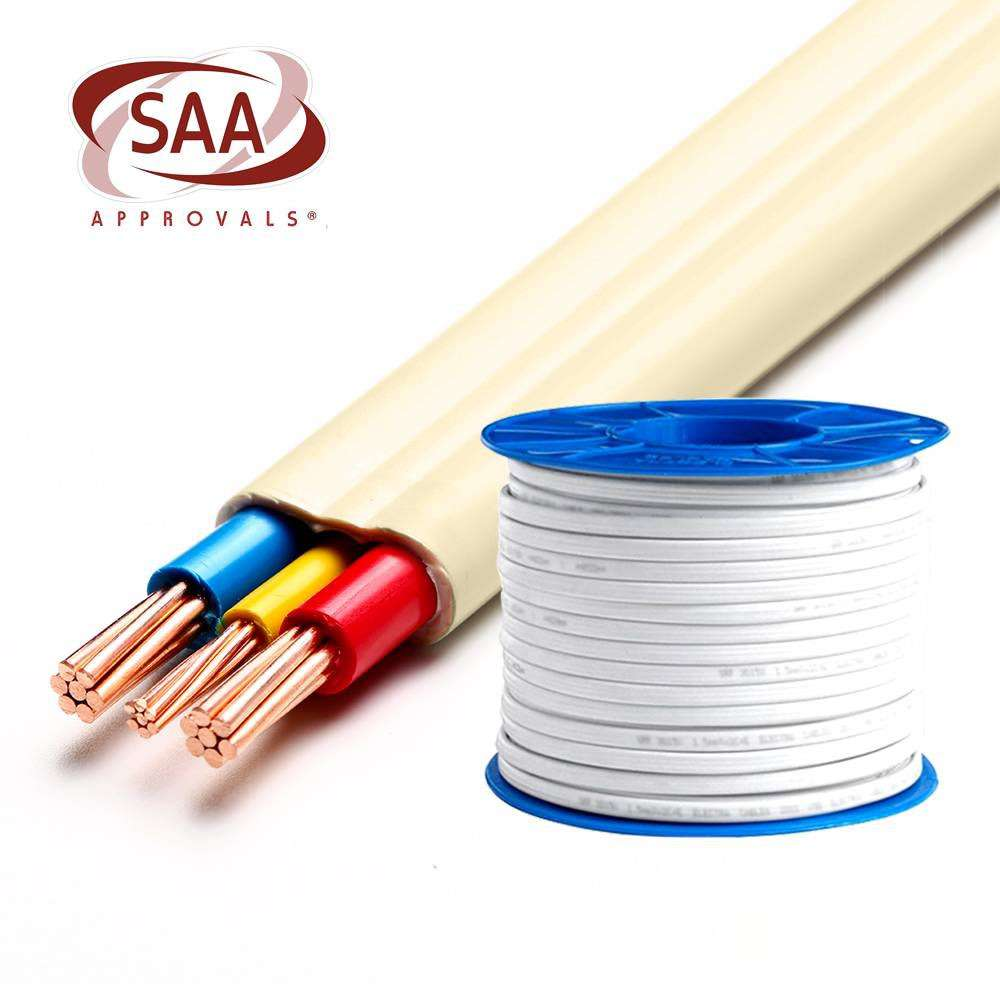 Australian Wire 2.5 MM Flat TPS Electrical Cable