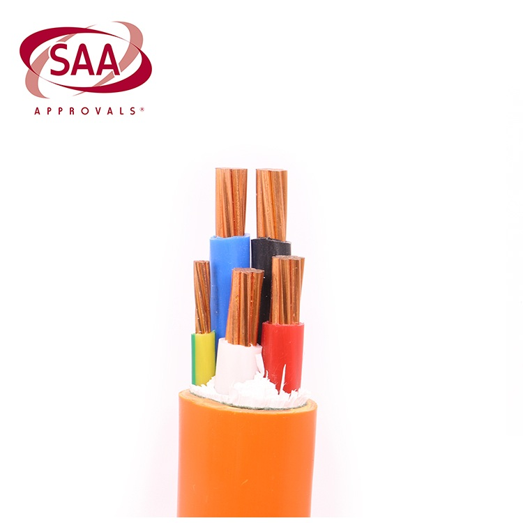 SAA Approved 600V CU 16MM XLPE 4 Core Cable